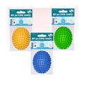 Мяч для стирки ″Овал″ 8,5*6,5 см 3 цвета , J87-106 купить оптом и в розницу