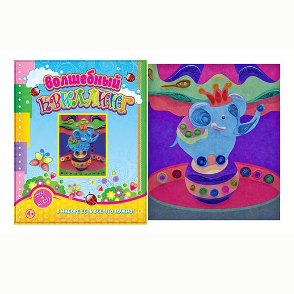 Набор ДТ Волшебный квиллинг Цирк ANK-9 купить оптом и в розницу