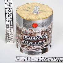 Салют батарея ″Silver bullet″ 1шт 18/1 В001010 купить оптом и в розницу