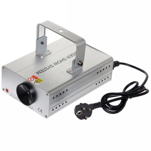 Световой прибор Лазер LSS-1, RG, mic+auto, 4 рисунка, алюминиевый корпус купить оптом и в розницу