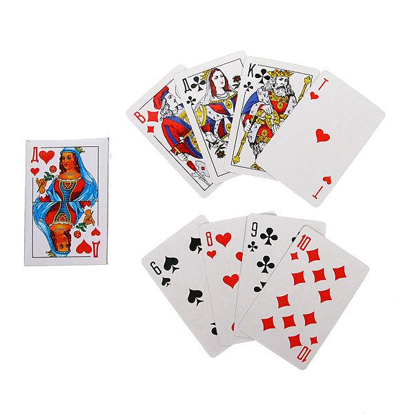 Карты игральные (36шт) 9811 купить оптом и в розницу