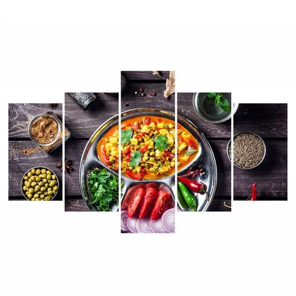 Картина модульная полиптих 75*130 Еда диз.25 60-02 купить оптом и в розницу