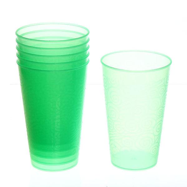 Набор стаканов пластиковых 6шт 250мл ″Паутинка″ Селфи купить оптом и в розницу