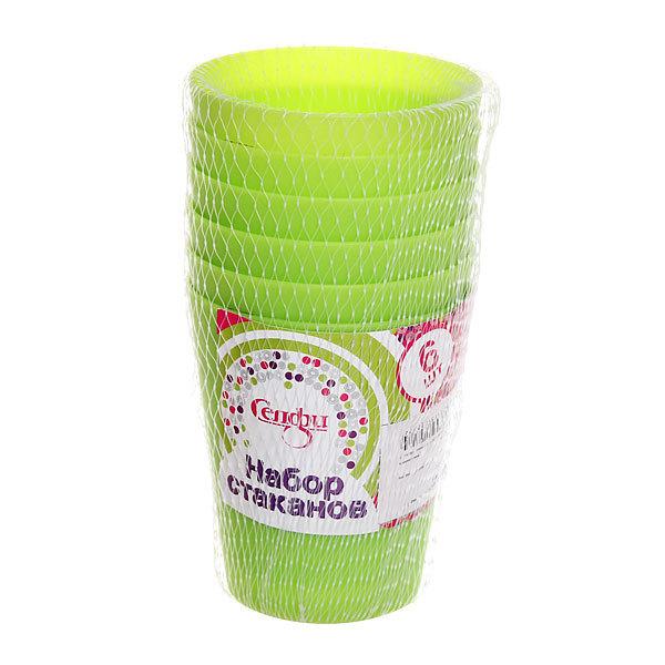 Набор стаканов пластиковых 6шт 250мл ″Лето″ Селфи купить оптом и в розницу