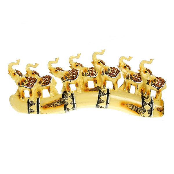 Статуэтки ″7 Слонов на бивне″ 15*34см 4936 купить оптом и в розницу