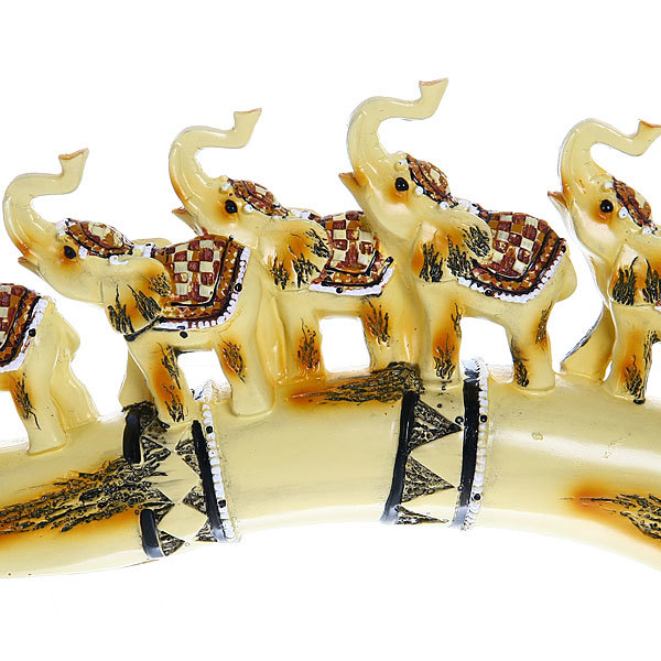 Статуэтки ″Семь слонов на бивне″ 15*34см купить оптом и в розницу