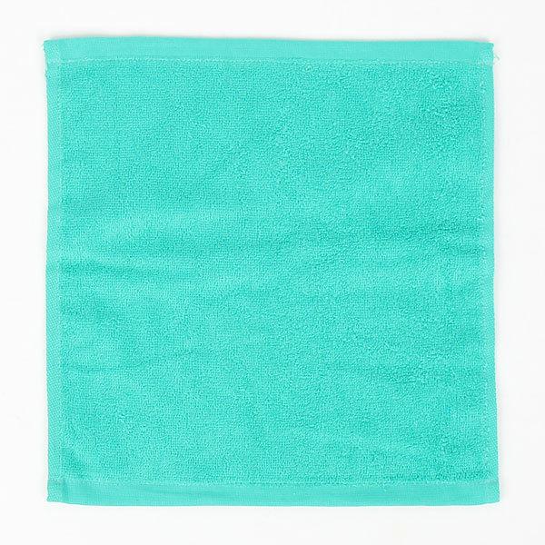 Махровое полотенце 30*30см Зеленое купить оптом и в розницу