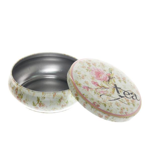 Набор банок для конфет металлических 2шт ″Чай″(13,5*4,5см,10,5*4см) купить оптом и в розницу