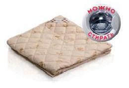 Одеяло 172х205 шерсть мериноса/тик(м/и) Василиса О/57 РБ купить оптом и в розницу