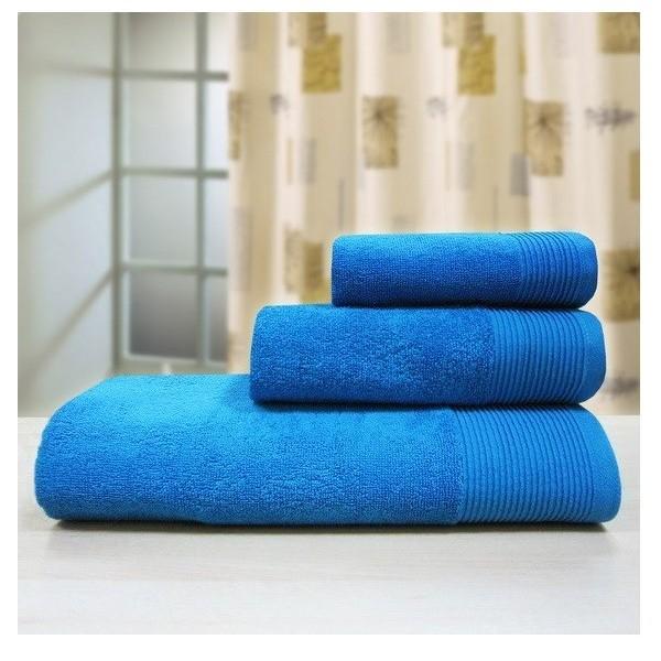 Махровое полотенце 70*140см аква Bravo Неон м1010 купить оптом и в розницу