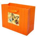 Пакет подарочный ″ 3D Бабочка солнечная″ 23*18*10см 10745-5 купить оптом и в розницу