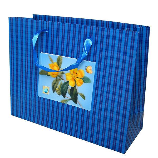 Пакет подарочный ″ 3D Цветочная Романтика″ 32*26*12см 10745-11 купить оптом и в розницу