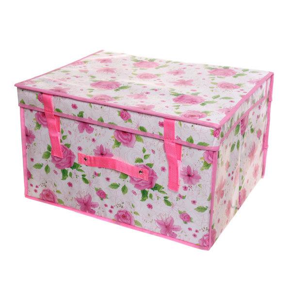 Коробка д/хранения вещей 50*40*30 6846 купить оптом и в розницу