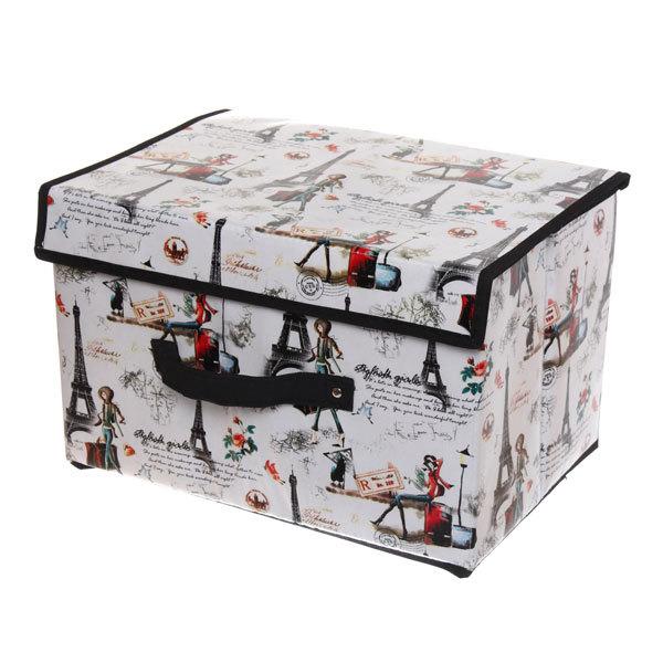 Коробка д/хранения вещей 38*25*24 AB37 купить оптом и в розницу