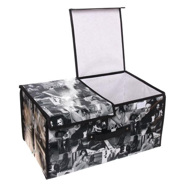 Коробка д/хранения вещей 50*30*25 AB38 купить оптом и в розницу