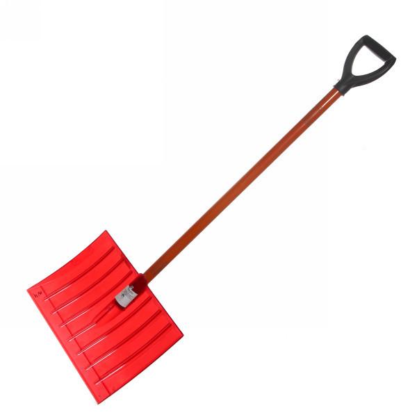 Лопата №4 поликарбонат 400*450мм д-35мм алюм.черенок с ручкой купить оптом и в розницу