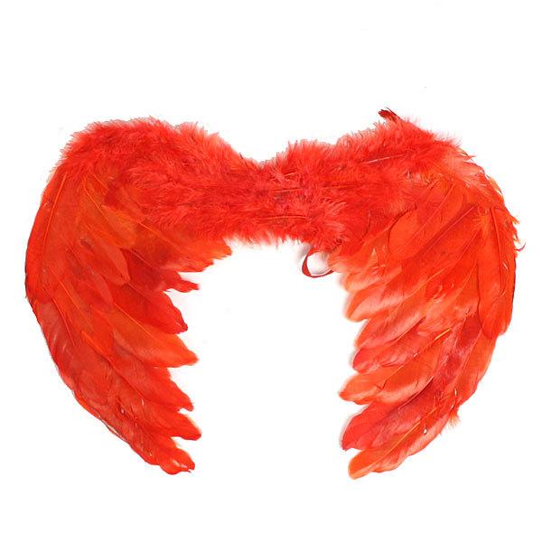 Карнавальный аксессуар ″Крылья″ перо,пух 50*40 546-5 купить оптом и в розницу