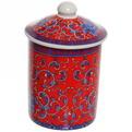 Кружка керамическая с ситом 200мл ″Синие цветы″ купить оптом и в розницу
