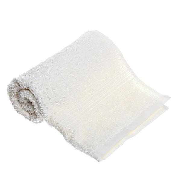 Махровое полотенце 40*70см светло-кремовое ЭК70 Д01 купить оптом и в розницу