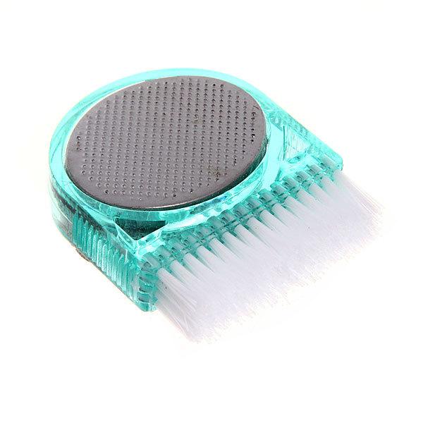 Пемза для ног 3 в 1, со щеткой, форма овал, цвет в ассортименте 5*6см купить оптом и в розницу