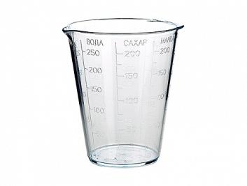 Мерный стакан (прозрачный)*90 купить оптом и в розницу