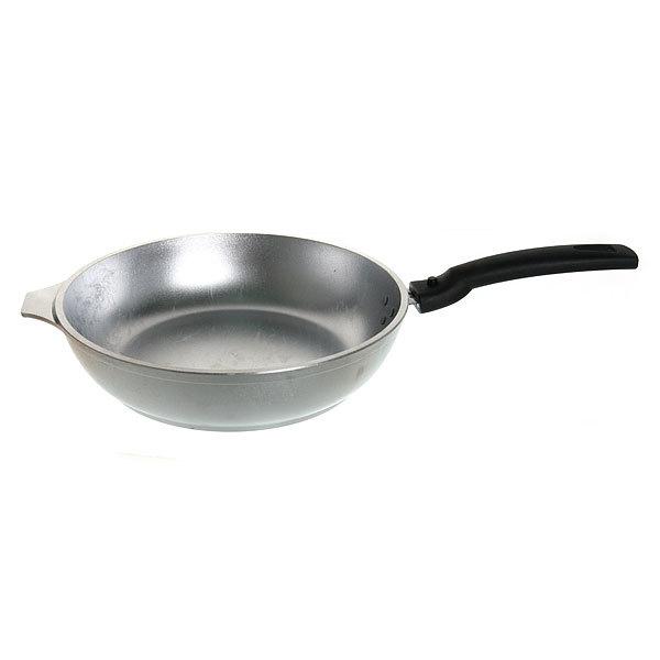 Сковорода 24 см литой алюминий со съемной ручкой КМ-с246 купить оптом и в розницу