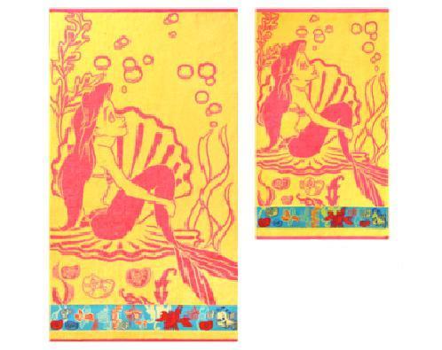 ПЦ-2602-1745 полотенце 50х90 махр п/т Ariel цв.10000 купить оптом и в розницу