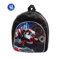 Рюкзак детский Ультрамарин ″Мотоциклист″ 27*24*9 черный цвет 476-19 купить оптом и в розницу