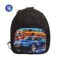 Рюкзак детский ″Ультрамарин - Крутые машины″, цвет черный 24*21,5*7,5 купить оптом и в розницу