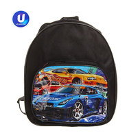 Рюкзак детский ″Гоночные машины″, черный 24*21,5*7,5 см купить оптом и в розницу