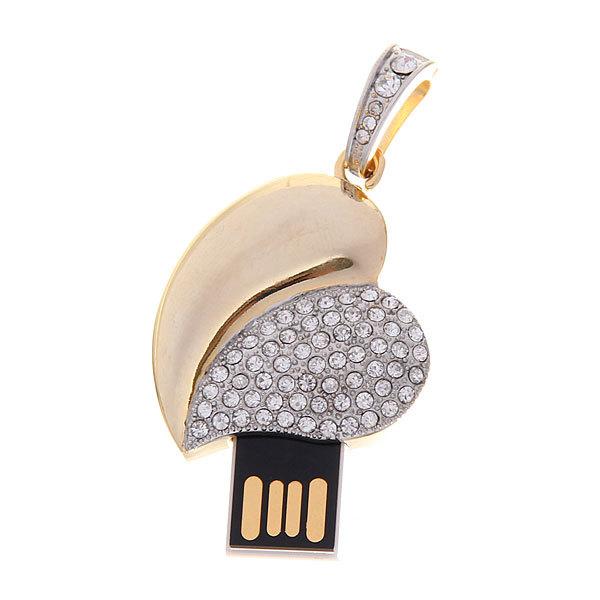USB-флеш-накопитель со стразами(4gb) купить оптом и в розницу