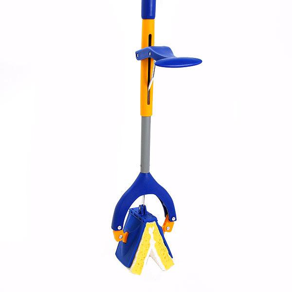 Швабра Neco с губкой металлическая ручка 120 см.(складной отжим) 10-3850-11 купить оптом и в розницу