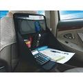 Органайзер автомобильный, подставка для компьютера на заднюю спинку переднего сидения 25*35*3см, цвет черный купить оптом и в розницу