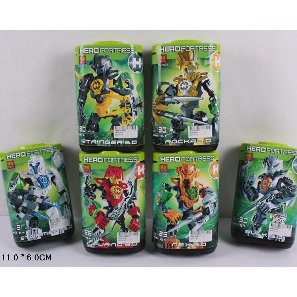 Робот Бионикл 9920-9925 6 видов в банке купить оптом и в розницу