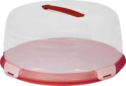 Тортовница белая/прозрачная/4 шт купить оптом и в розницу