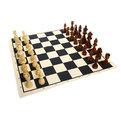 Игра настольная ″Шахматы″, тканевая доска 24*18,5*6 см купить оптом и в розницу