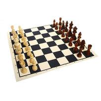 Шахматы, тканевая доска Е405 24*18,5*6 купить оптом и в розницу