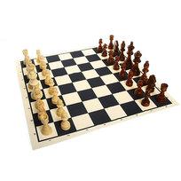 Шахматы, тканевая доска Е305 27,5*15*5 купить оптом и в розницу