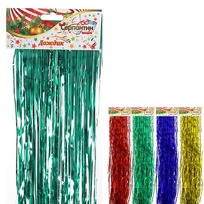 Дождик 1,5м ″Классика″ цветной тонкий купить оптом и в розницу