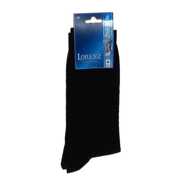 Носки теплые мужские черн. р.25-29 купить оптом и в розницу