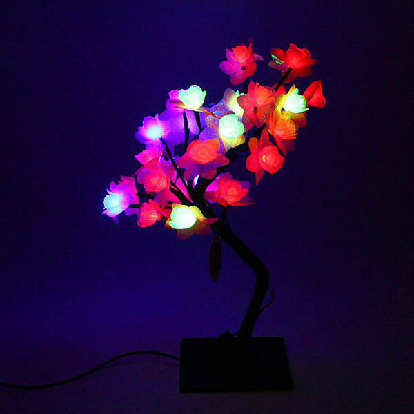 Световое дерево LED 41см,″Роза″ RG/RB RB-28 купить оптом и в розницу