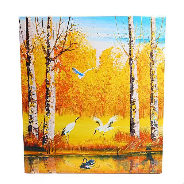 Картина-Панно из дерева 33*38см ″Парк″ LV123 купить оптом и в розницу
