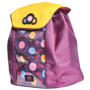 Рюкзак школьный PROFF Сладости 24*22*14 см с 1-м отд. на кулиске, клапаном, 1-м карм., доступом со спины в основное отд. купить оптом и в розницу