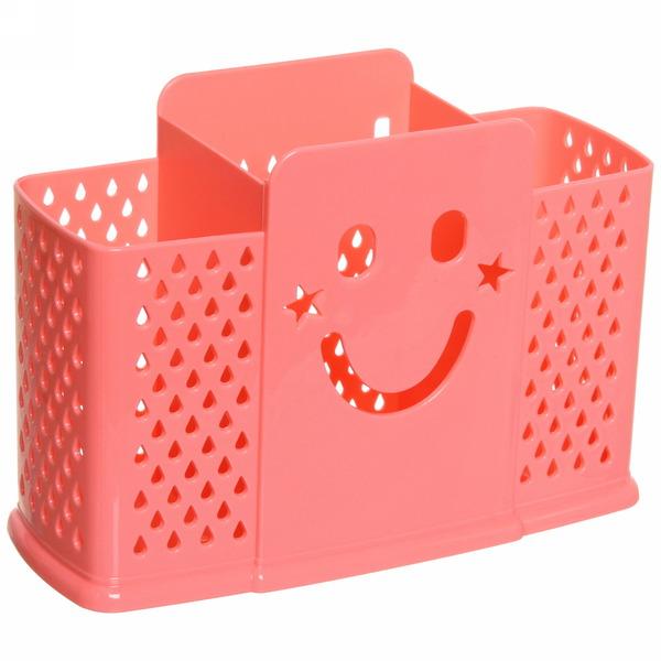 Подставка для столовых приборов13*19*7см пластиковая, 3 секции купить оптом и в розницу