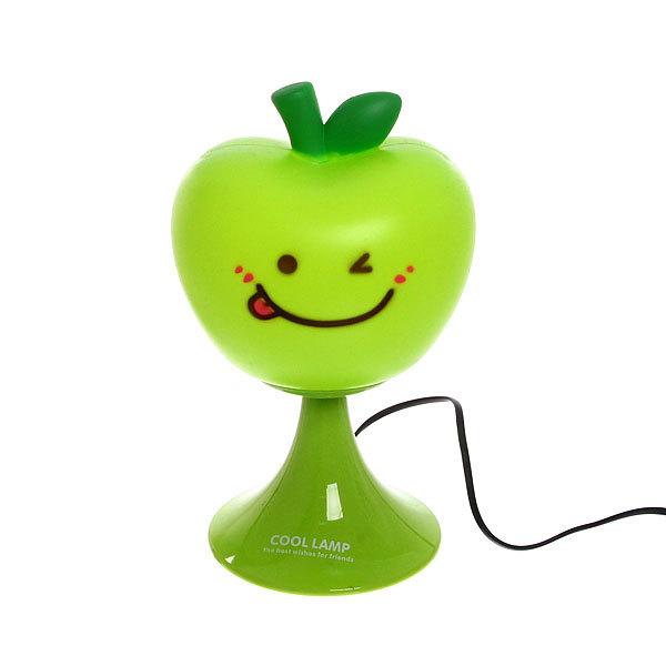 Светильник декоративный ″Яблочко″ зеленое 29 см, 220 В купить оптом и в розницу