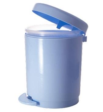 Ведро для мусора с педалью 6 л*4 купить оптом и в розницу