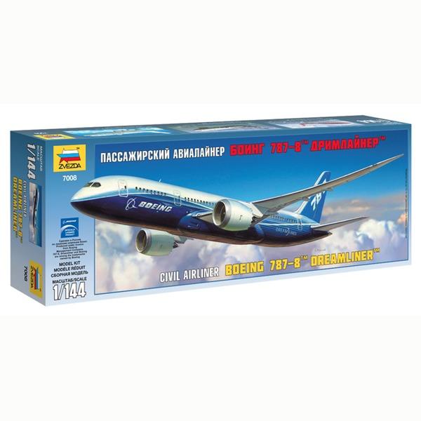 Сб.модель 7008ПН Самолет Боинг 787 купить оптом и в розницу