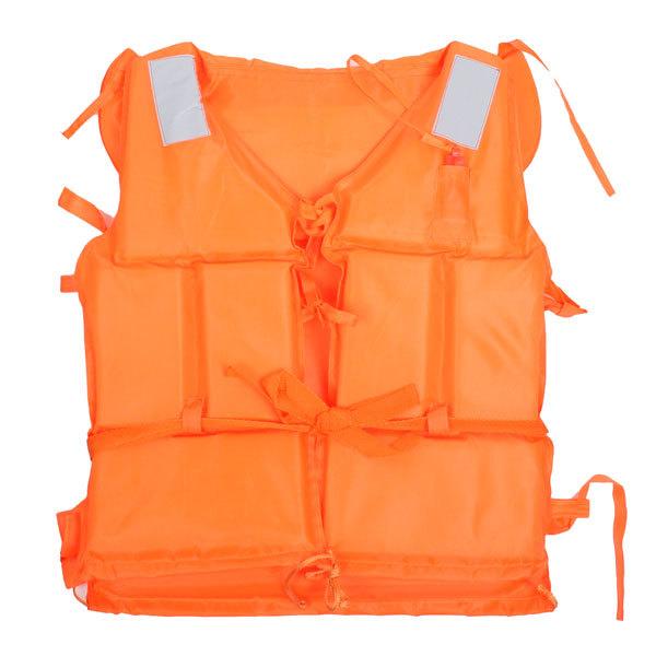 Жилет страховочный оранжевый LV07 больш размер купить оптом и в розницу