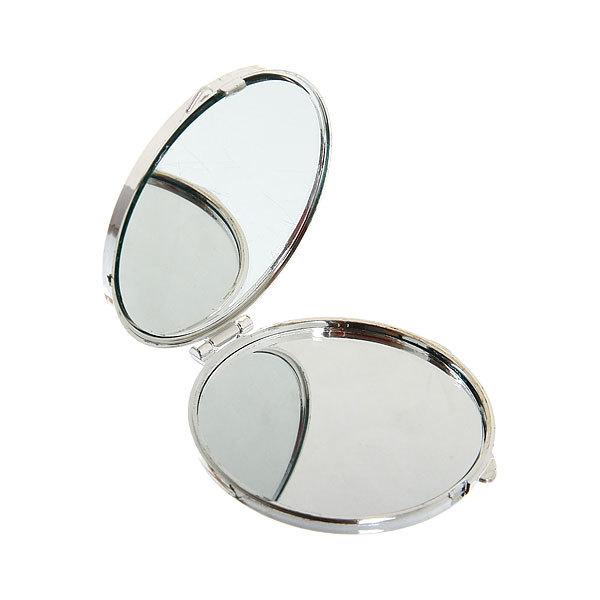 Зеркало косметическое ″Стразы″ овал 7,5*6см купить оптом и в розницу