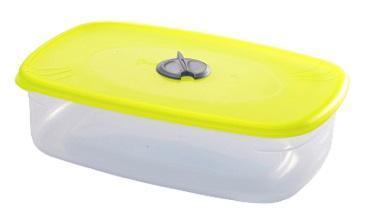 Емкость прямоугольная для СВЧ с паровыпускным клапаном 1,2 л*45 купить оптом и в розницу